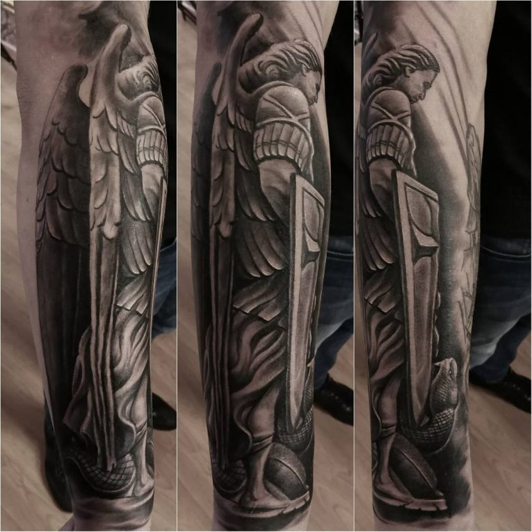 Saint Michael Tattoo 86