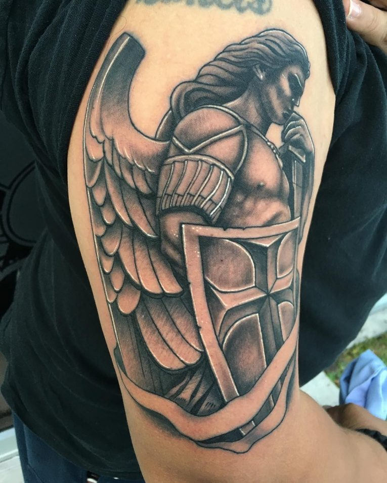 Saint Michael Tattoo 88