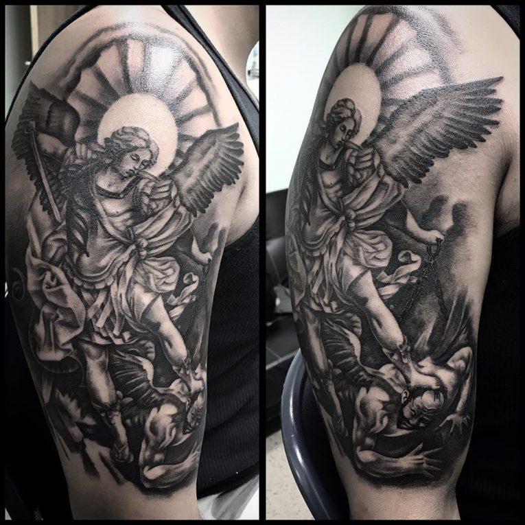 Saint Michael Tattoo 91