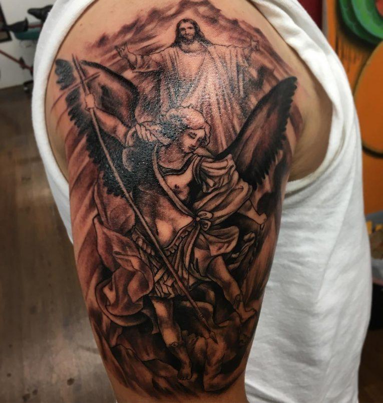 Saint Michael Tattoo 92