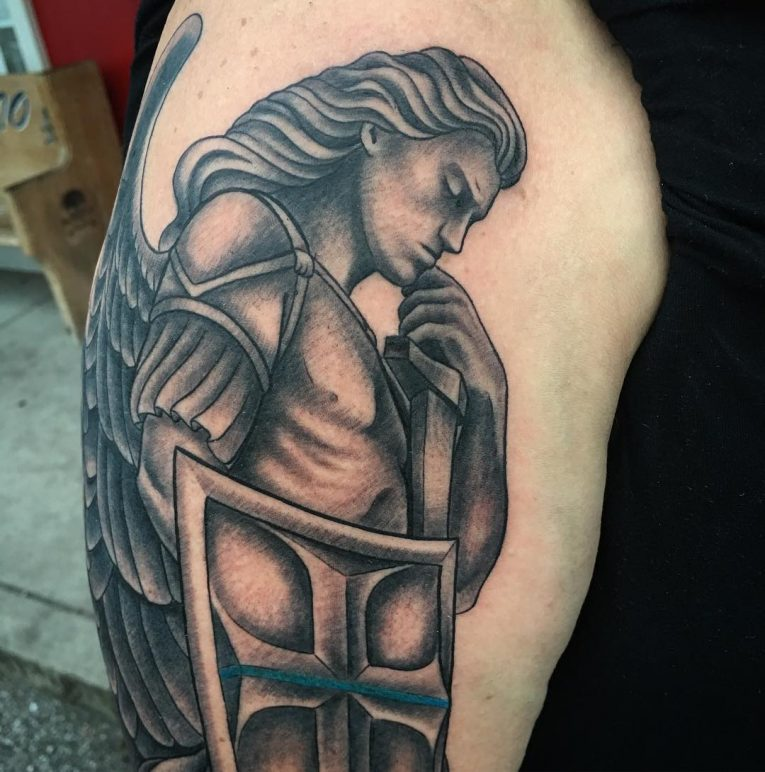 Saint Michael Tattoo 93