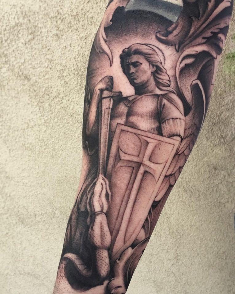 Saint Michael Tattoo 94