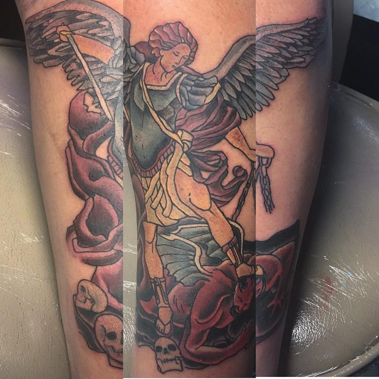 Saint Michael Tattoo 95