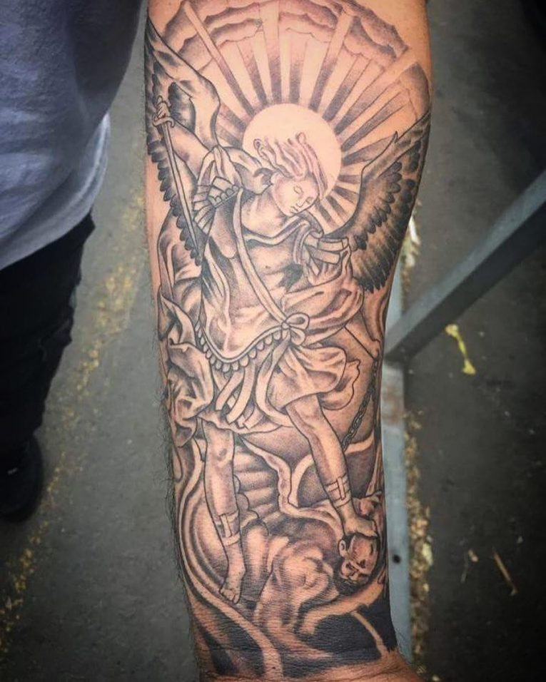 Saint Michael Tattoo 97