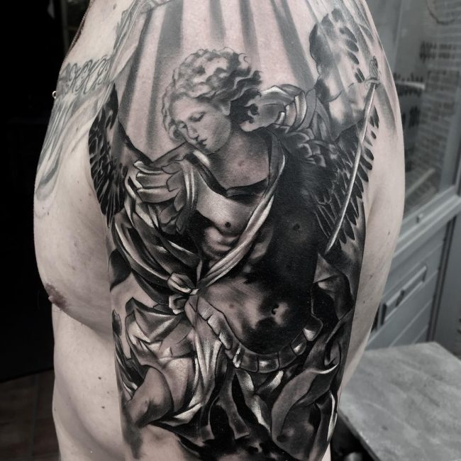 Saint Michael Tattoo_