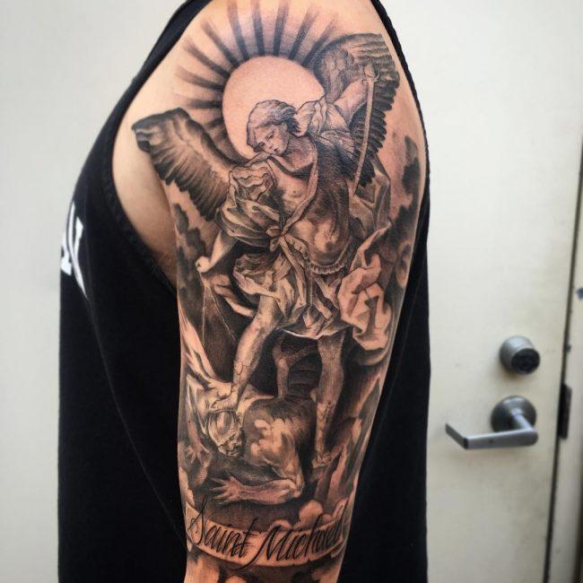 Saint Michael Tattoo_