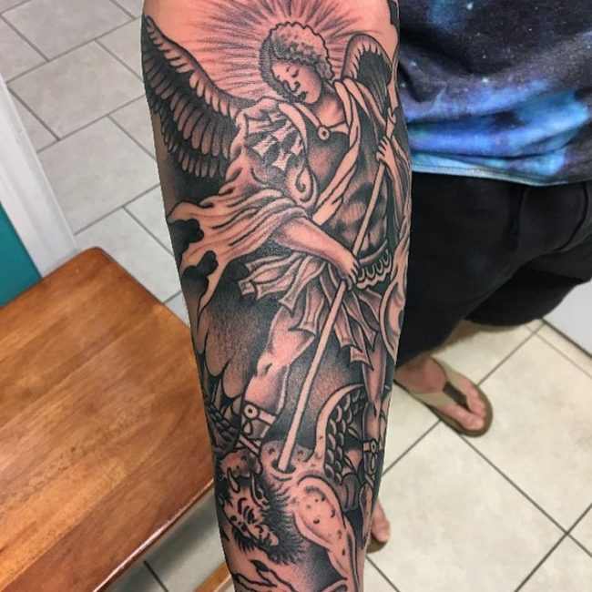 Saint Michael Tattoo