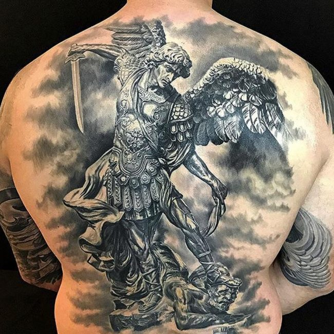 95 best saint michael tattoos designs meanings 2018