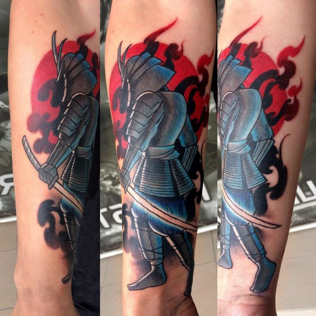 Samurai Tattoo 56