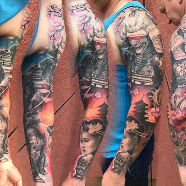 Samurai Tattoo 57