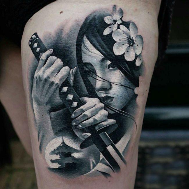 Samurai Tattoo 59
