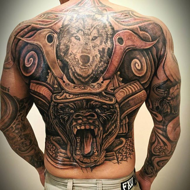 Samurai Tattoo 62
