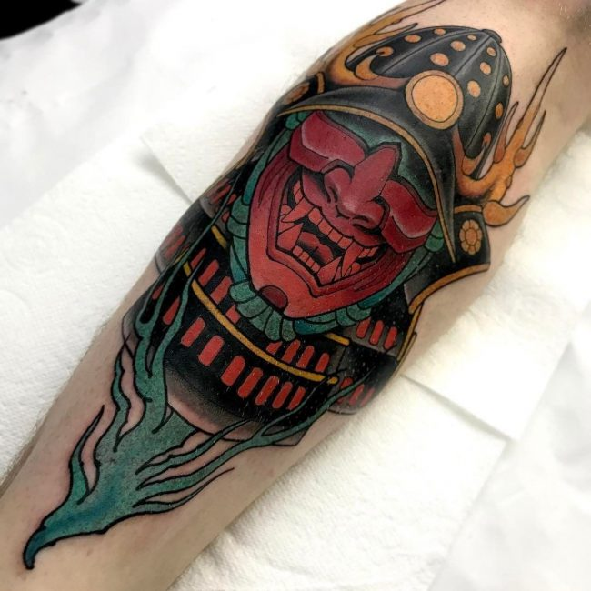 Samurai Tattoo 63