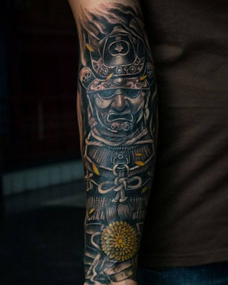 Samurai Tattoo 69