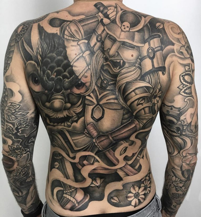 Samurai Tattoo 71