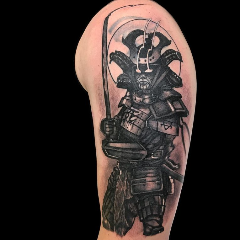 Samurai Tattoo 75