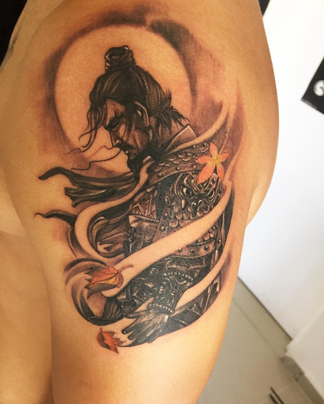 Designs Meanings 2019: 75+ Best Japanese Samurai Tattoo