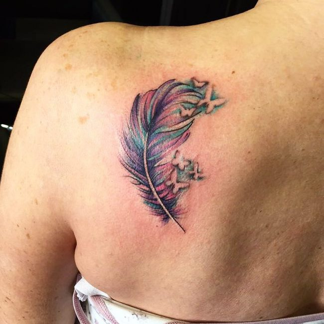 Shoulder Blade Tattoo 34