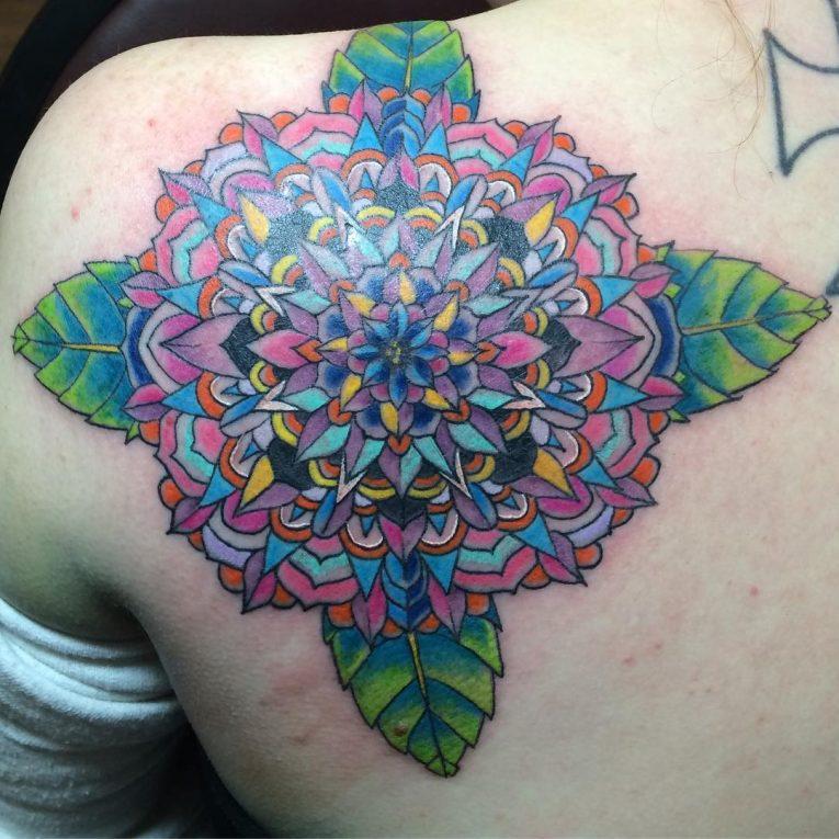 Shoulder Blade Tattoo 43