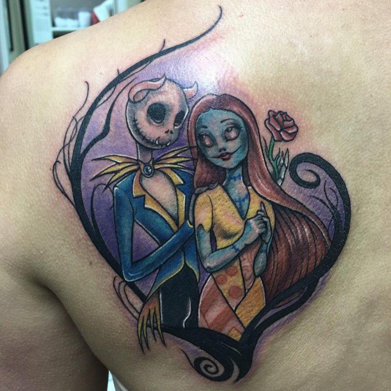 Shoulder Blade Tattoo 44
