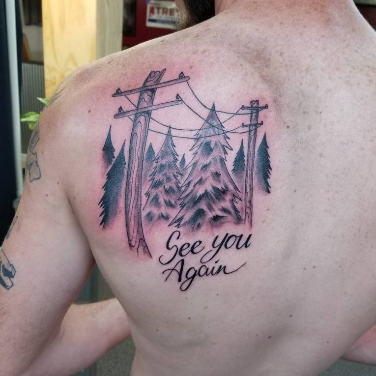 Shoulder Blade Tattoo 49