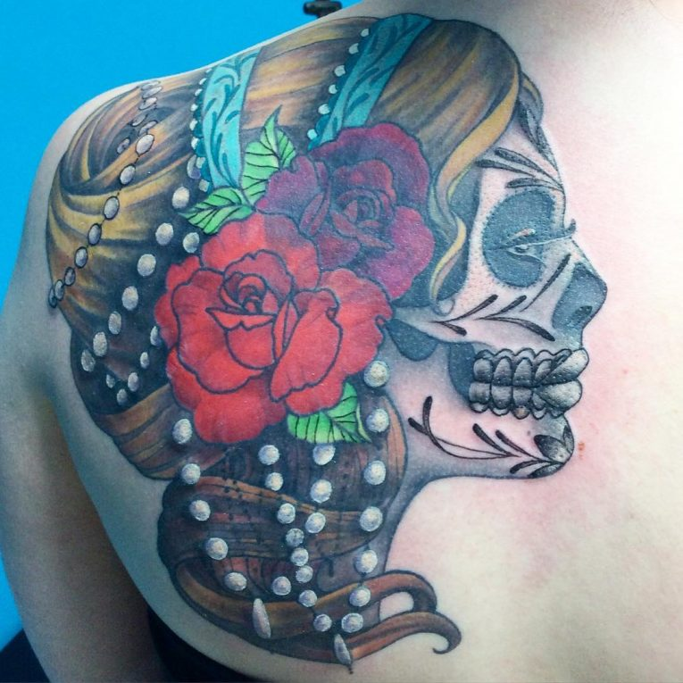 Shoulder Blade Tattoo 51