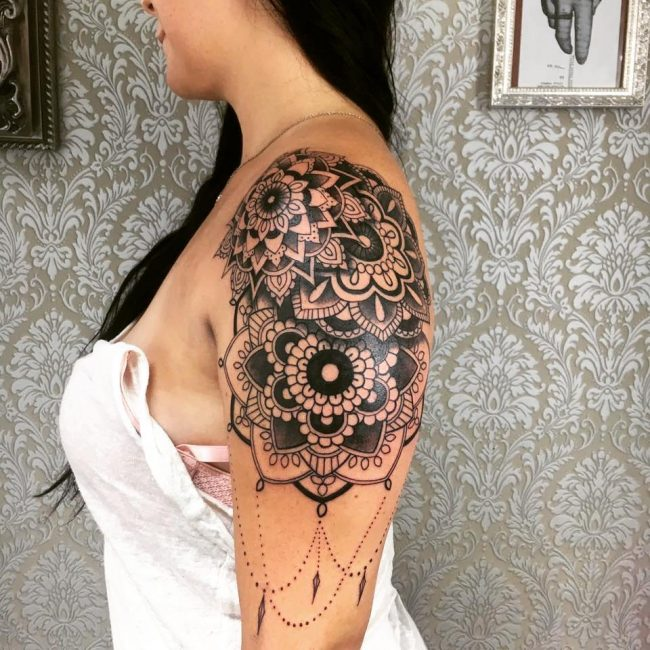 Shoulder Tattoo 74