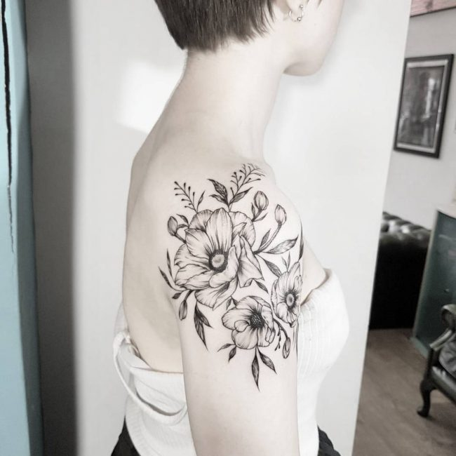 Shoulder Tattoo 77