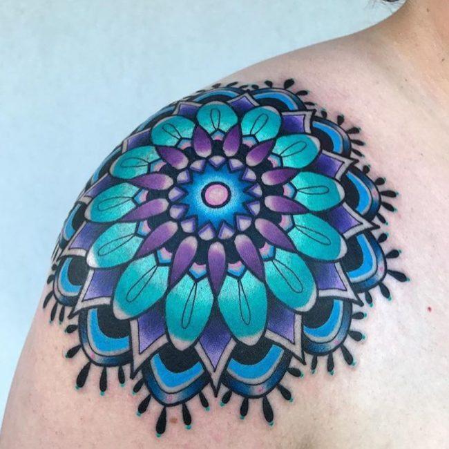 Shoulder Tattoo 78