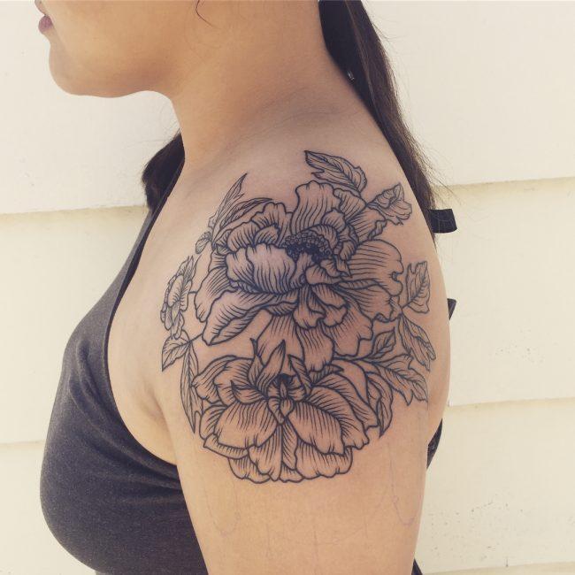 Shoulder Tattoo 79