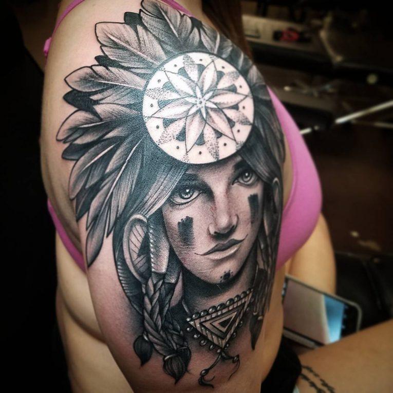 Shoulder Tattoo 83