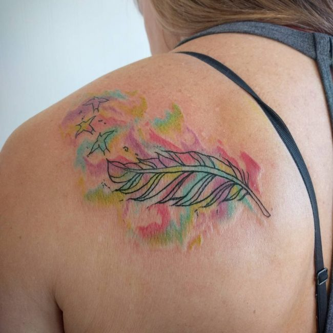 90 best shoulder tattoo designs meanings symbols of for Feminine tattoos with meaning