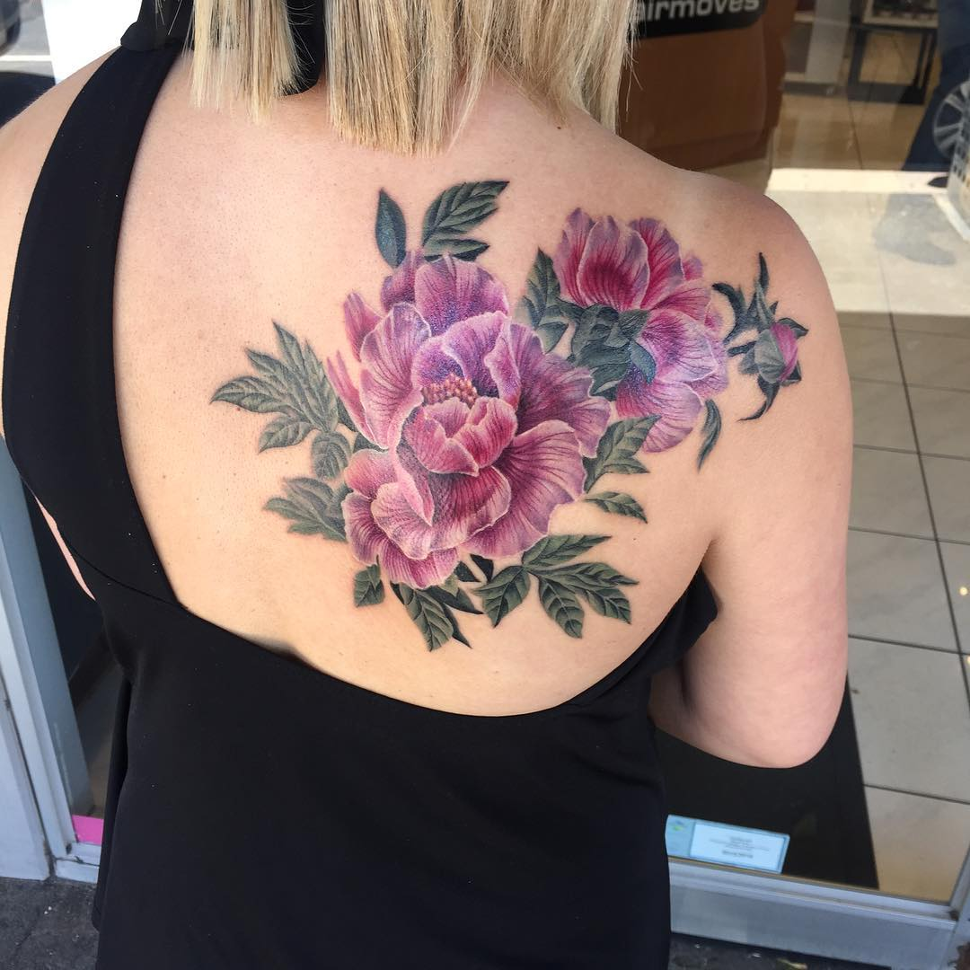 Flower Shoulder Tattoo Designs: 90+ Best Shoulder Tattoo Designs & Meanings