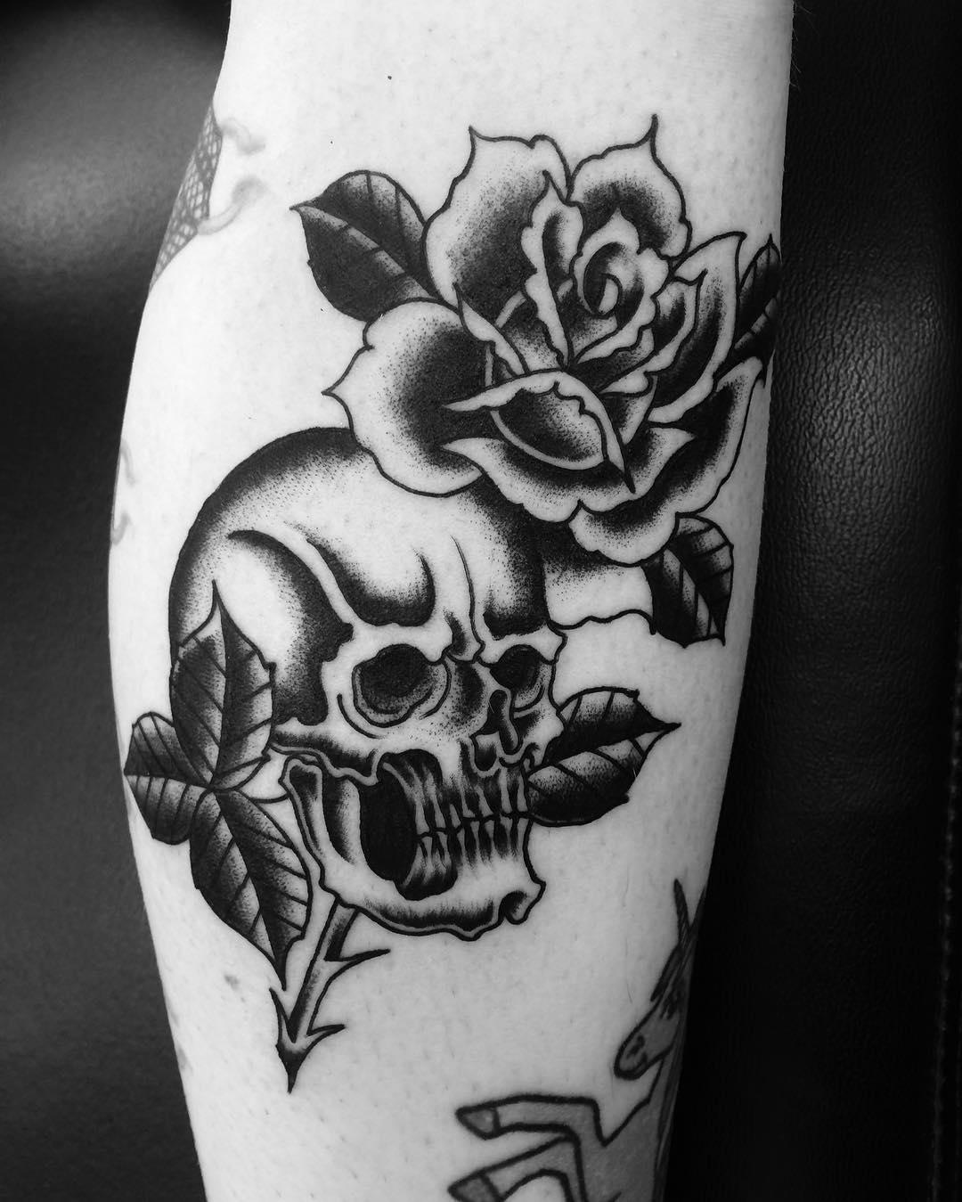 Tattoo Designs Skull: 85 Best Sugar Skull Tattoo Designs & Meanings [2019]