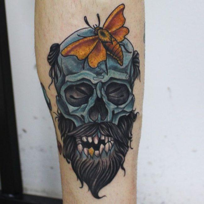 Skull Tattoo_