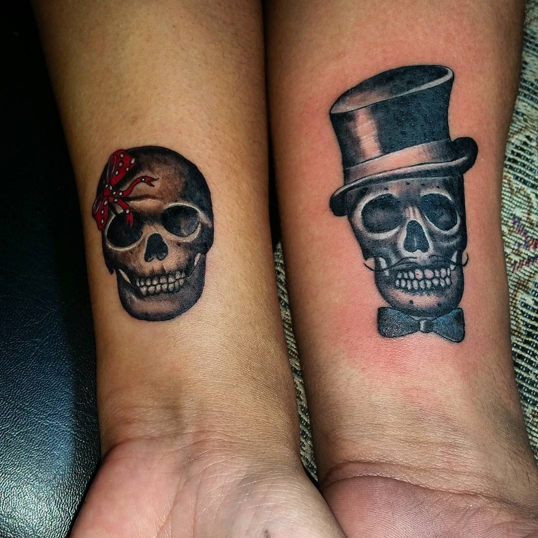 85 best sugar skull tattoo designs meanings 2018. Black Bedroom Furniture Sets. Home Design Ideas