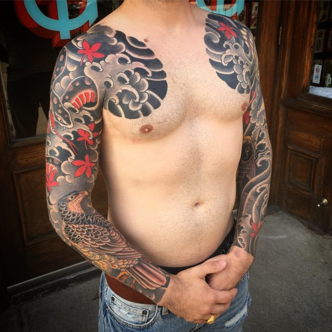 Sleeve Tattoo 106