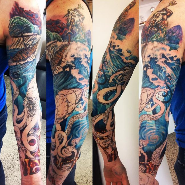 Sleeve Tattoo 110