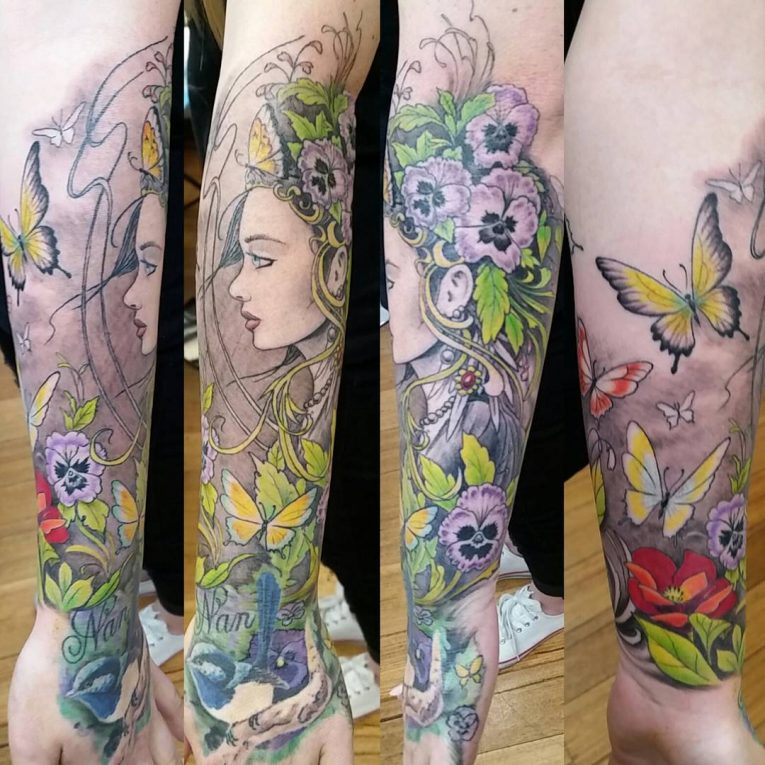 Sleeve Tattoo 116