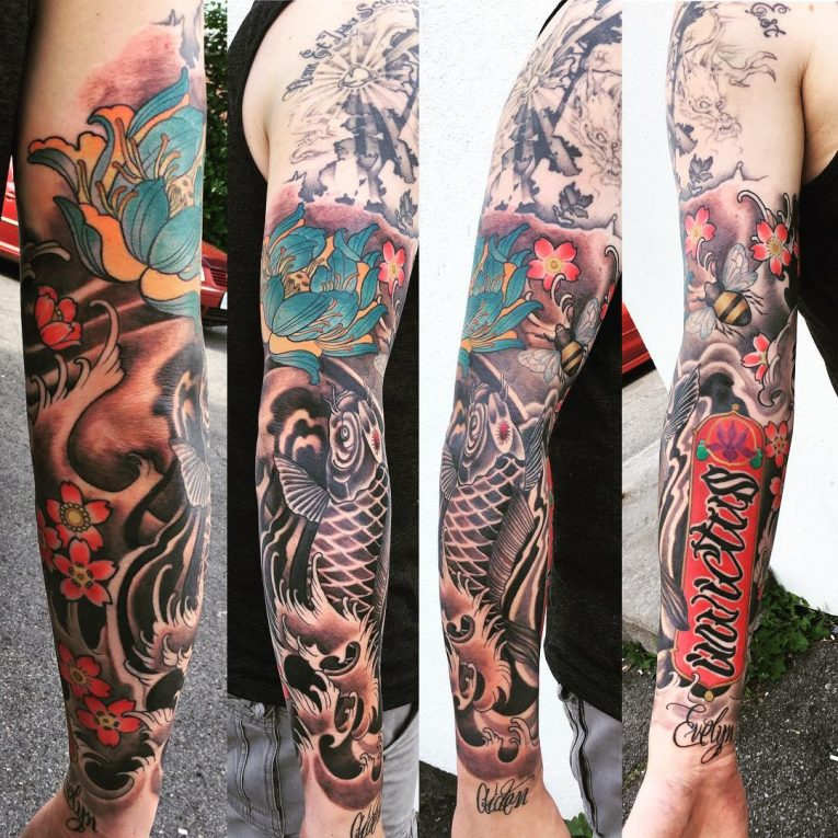 Sleeve Tattoo 117