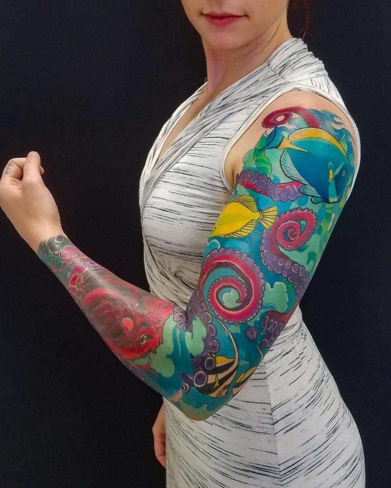 Sleeve Tattoo 118