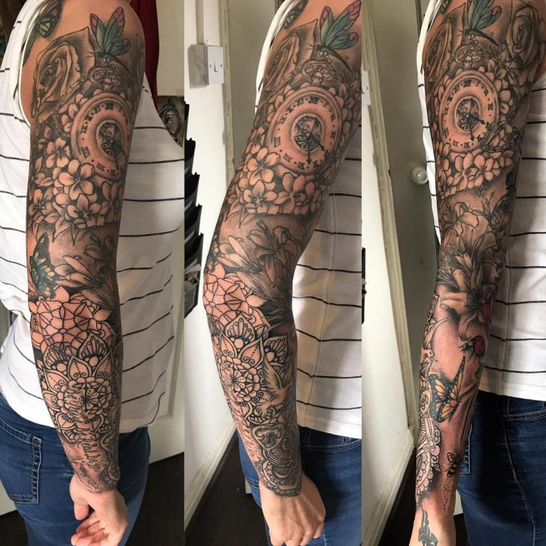 Sleeve Tattoo 122