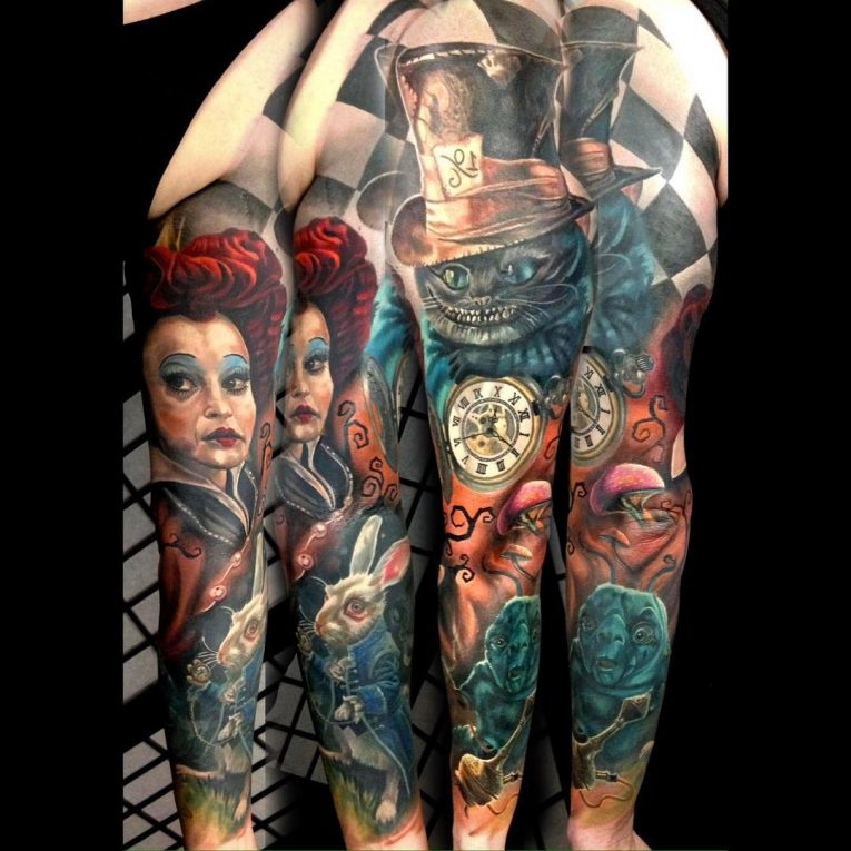 Sleeve Tattoo 123
