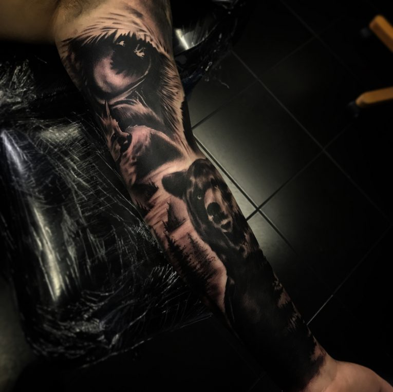 Sleeve Tattoo 124