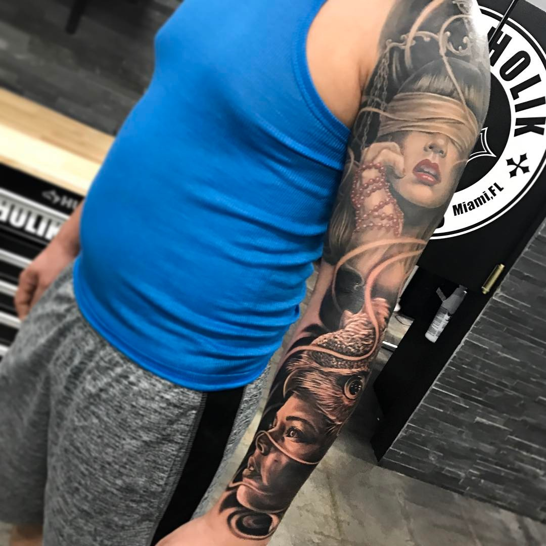 Tattoo Ideas Color: 125+ Sleeve Tattoos For Men And Women Designs & Meanings