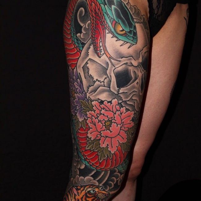 Snake Tattoo 53