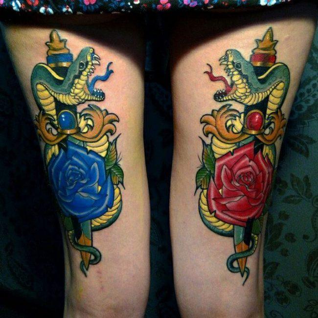 Snake Tattoo 57