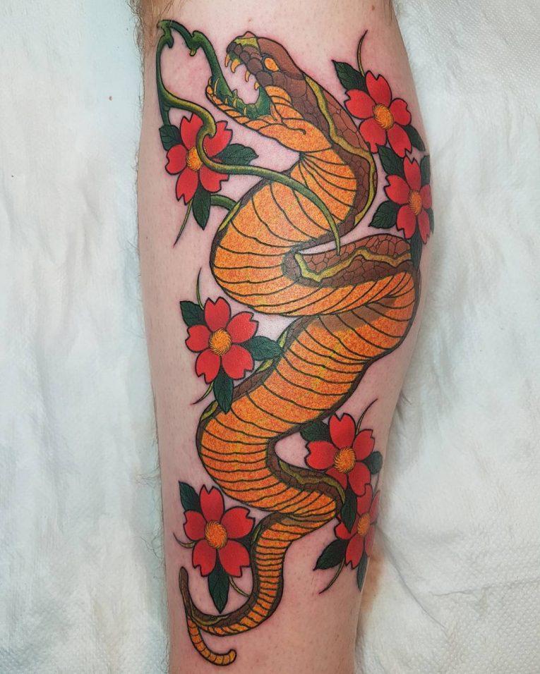 Snake Tattoo 61