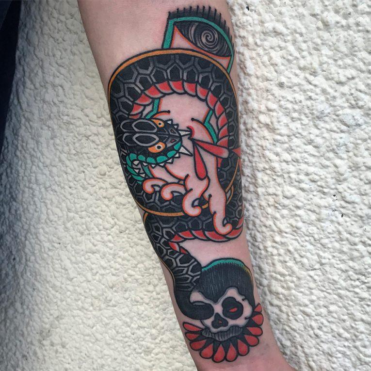 Snake Tattoo 64