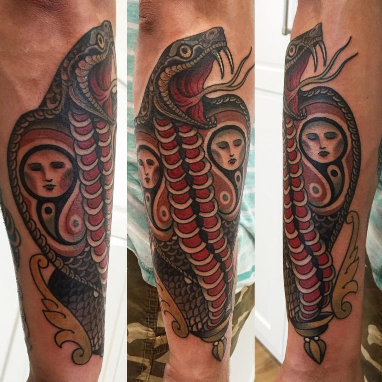 Snake Tattoo 69